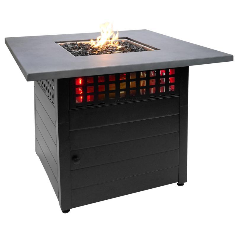 """Mr. Bar-B-Q 38"""" GAD19105ES  Daniel Dual Heat Fire Pit"""