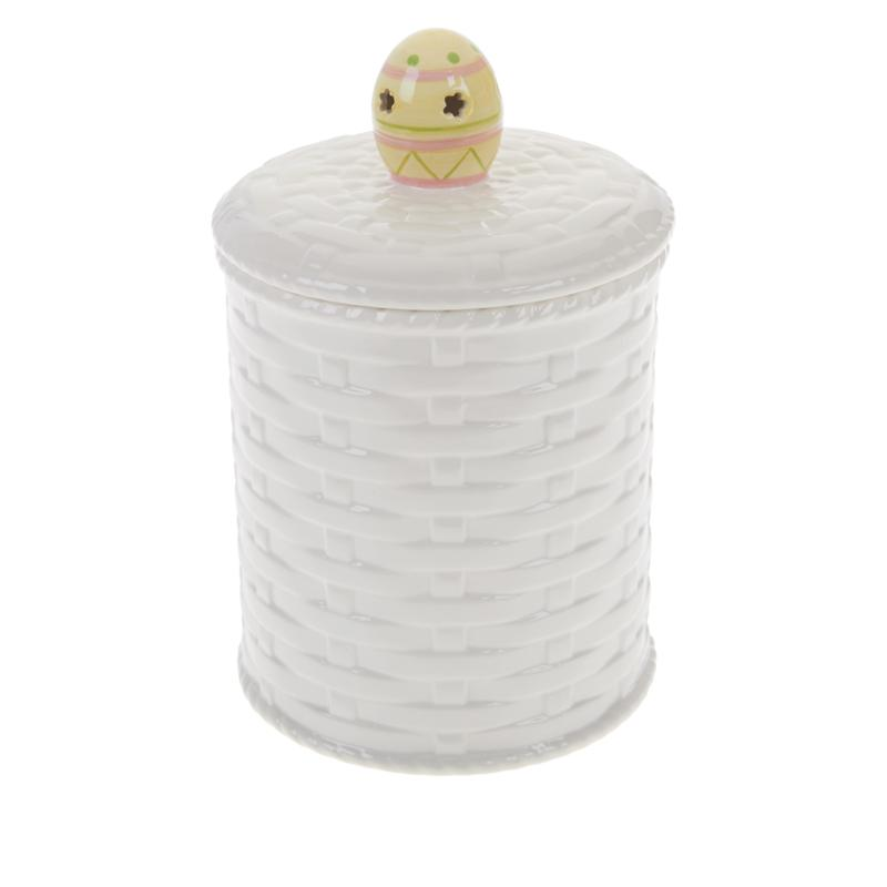 Mr. Cottontail Illuminated Egg Cookie Jar