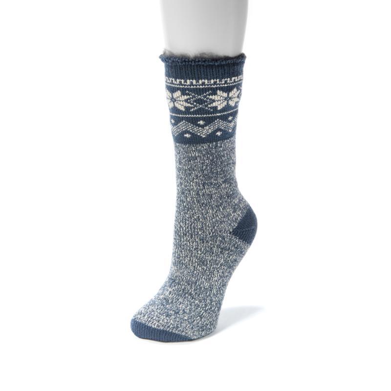 MUK LUKS Heat Retainer Thermal Sock