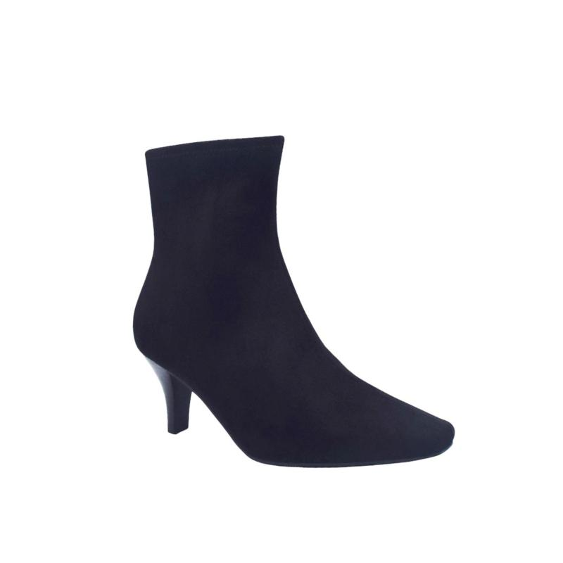 Naja Stretch Ankle Bootie with Memory Foam