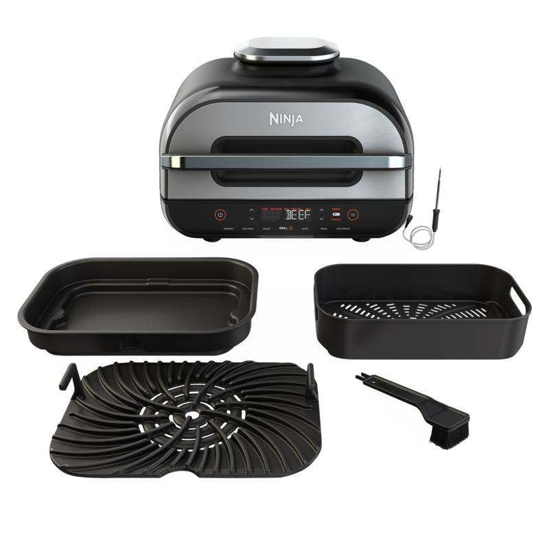 Ninja Foodi Smart 6-in-1 XL Grill with Thermometer