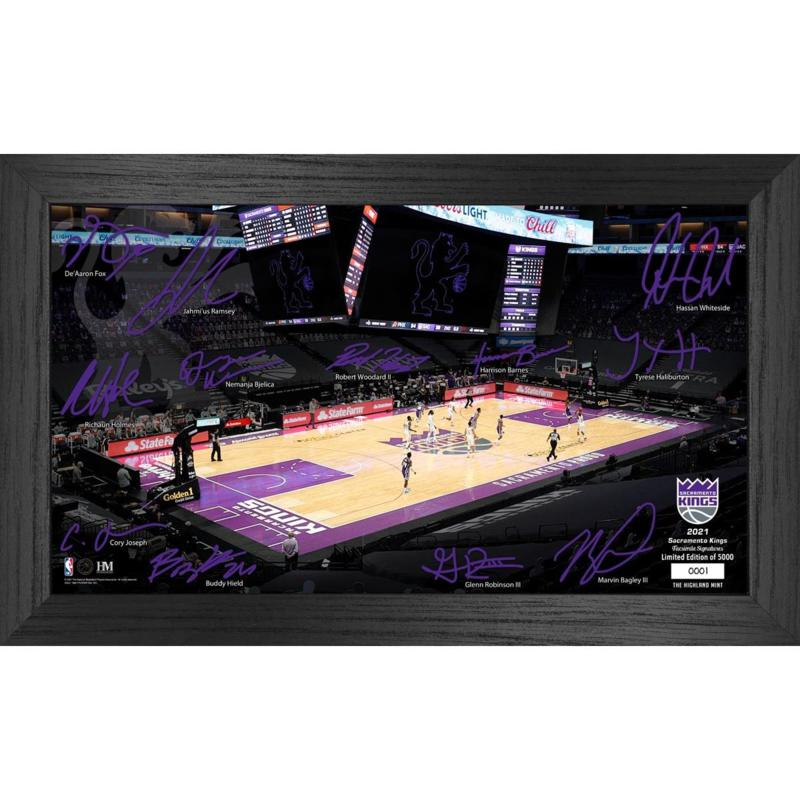 Officially Licensed NBA 2021 Signature Court - Sacramento Kings