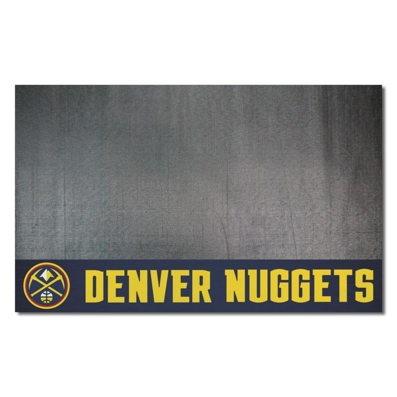 Officially Licensed NBA Vinyl Grill Mat  - Denver Nuggets