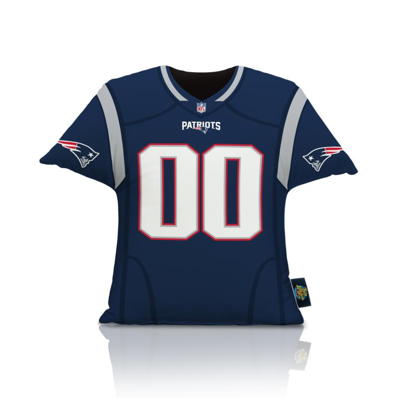 Officially Licensed NFL Big League Jersey Pillow-New England Patriots