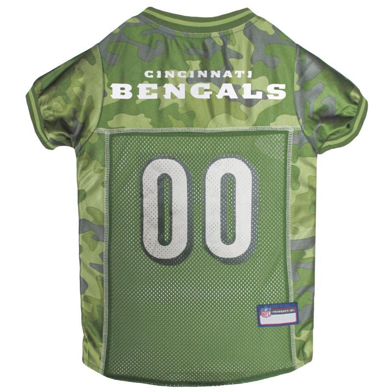 Officially Licensed NFL Camo Jersey - Cincinnati Bengals