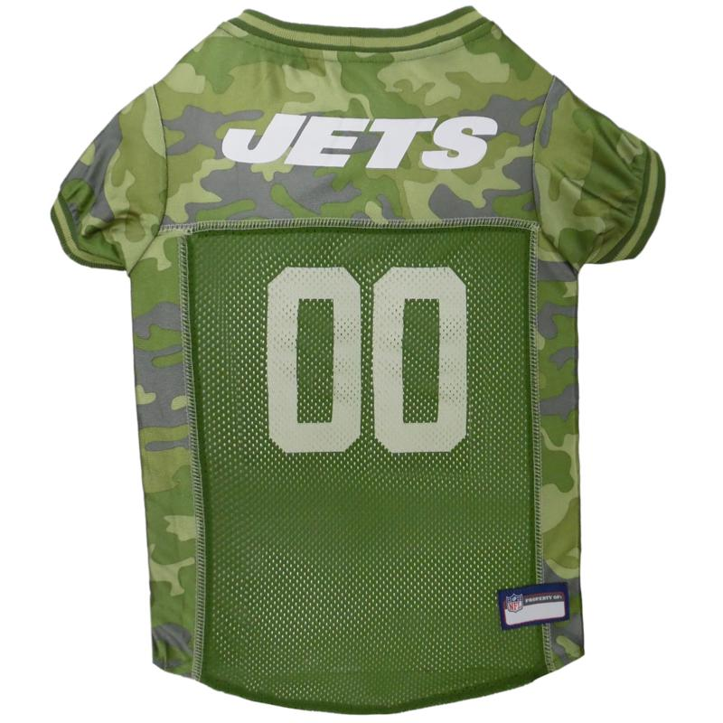Officially Licensed NFL Camo Jersey - New York Jets