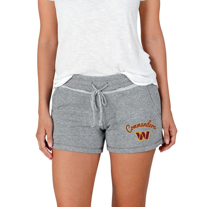 Officially Licensed NFL Mainstream Ladies Knit Shorts - Washington