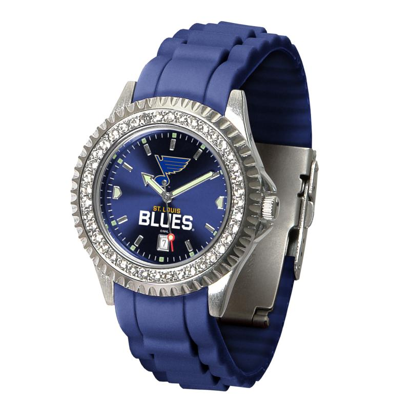 Officially Licensed NHL Sparkle Series Watch - St. Louis Blues