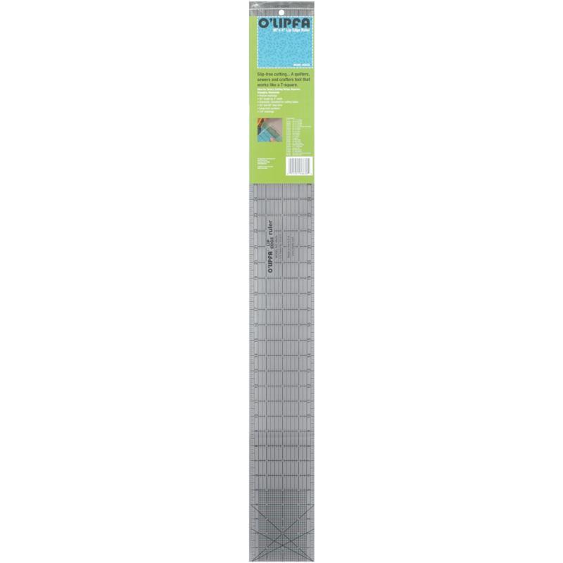 """O'Lipfa Lip Edge Ruler - 4"""" x 36"""""""