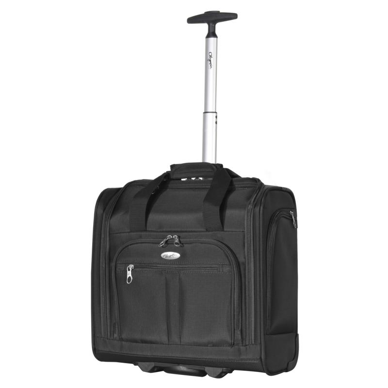 Olympia USA Lansing Under-the-Seat Wheeled Carry-on