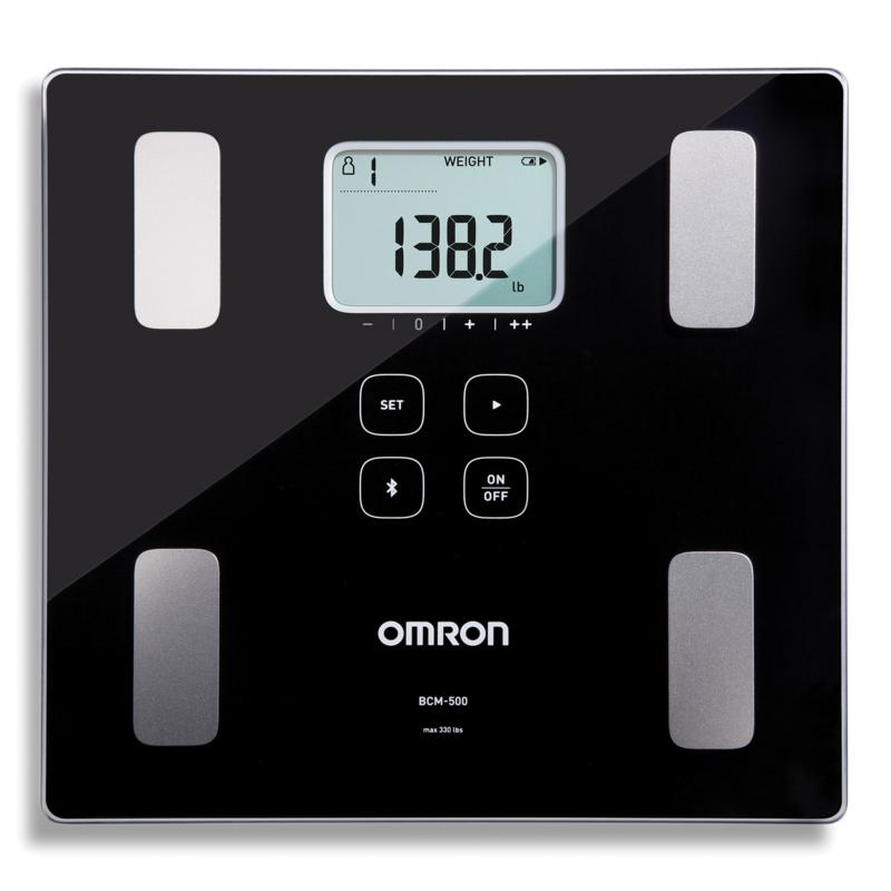 Omron BCM-500 Body Composition Monitor/Scale w/Bluetooth Connectivity