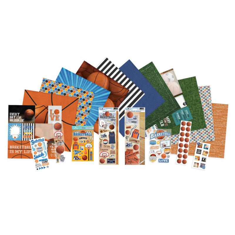 Paper House Basketball Paper Crafting Bundle