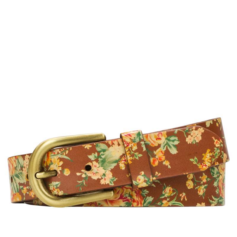 Patricia Nash Vietri Adjustable Leather Belt