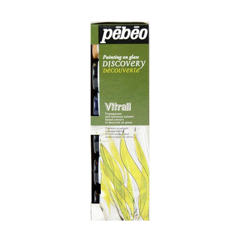 Pebeo Vitrail Discovery Set of 6