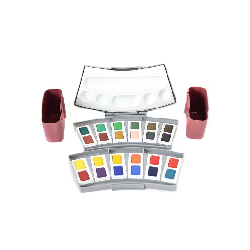Pelikan Opaque and Transparent Watercolor Set - 24