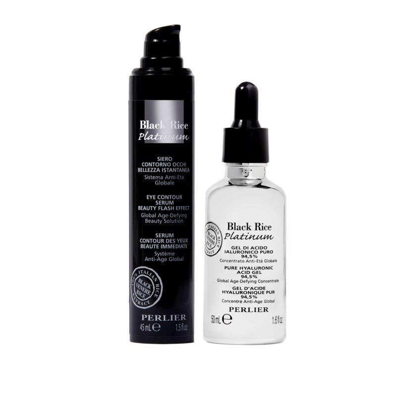 Perlier Black Rice Eye Serum & Hyaluronic Gel