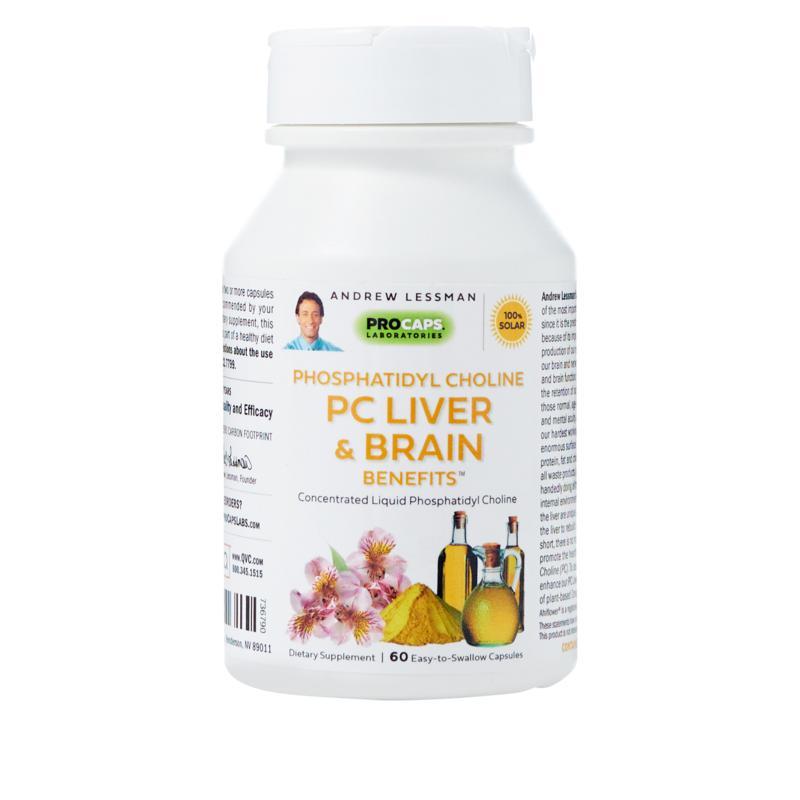 Phosphatidyl Choline Liver and Brain Benefits - 60 Capsules