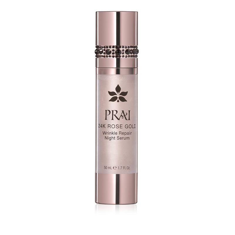 PRAI 24K Rose Gold Wrinkle Repair Night Serum