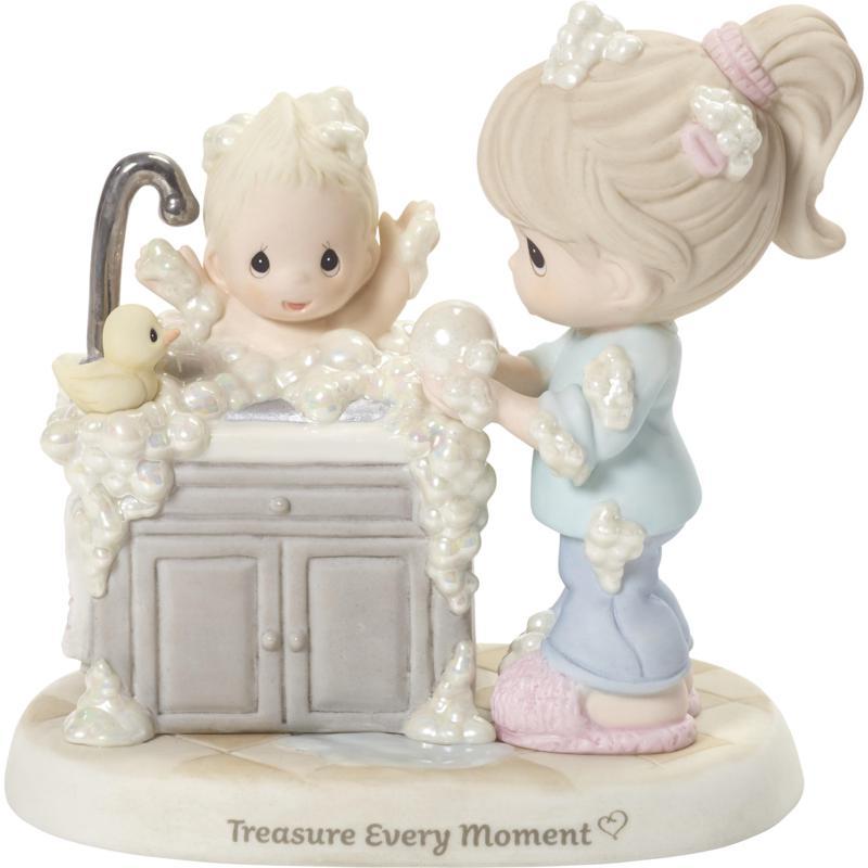 Precious Moments Treasure Every Moment Mom And Baby Figurine