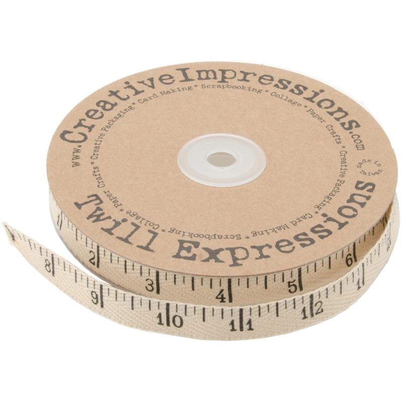 Printed, Twill Antique Ruler - 25 Yards