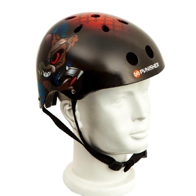Punisher Medium Skateboard Helmet - Ranger