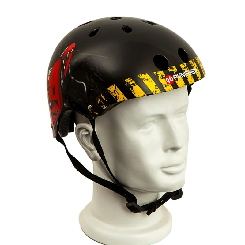Punisher Medium Skateboard Helmet - Teddy