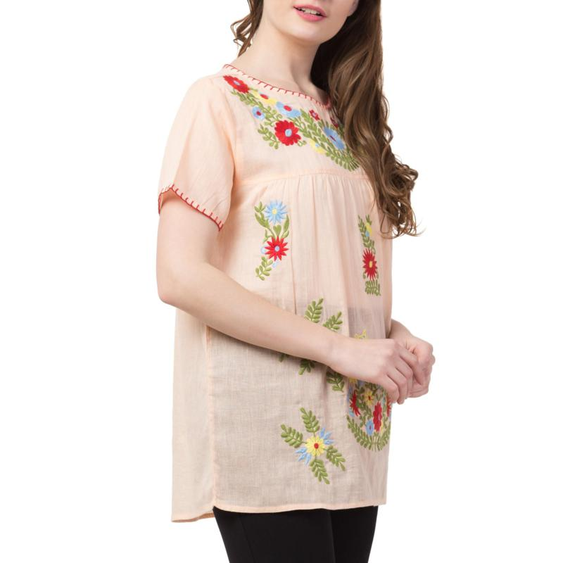 Raj Salena Embroidered Blouse