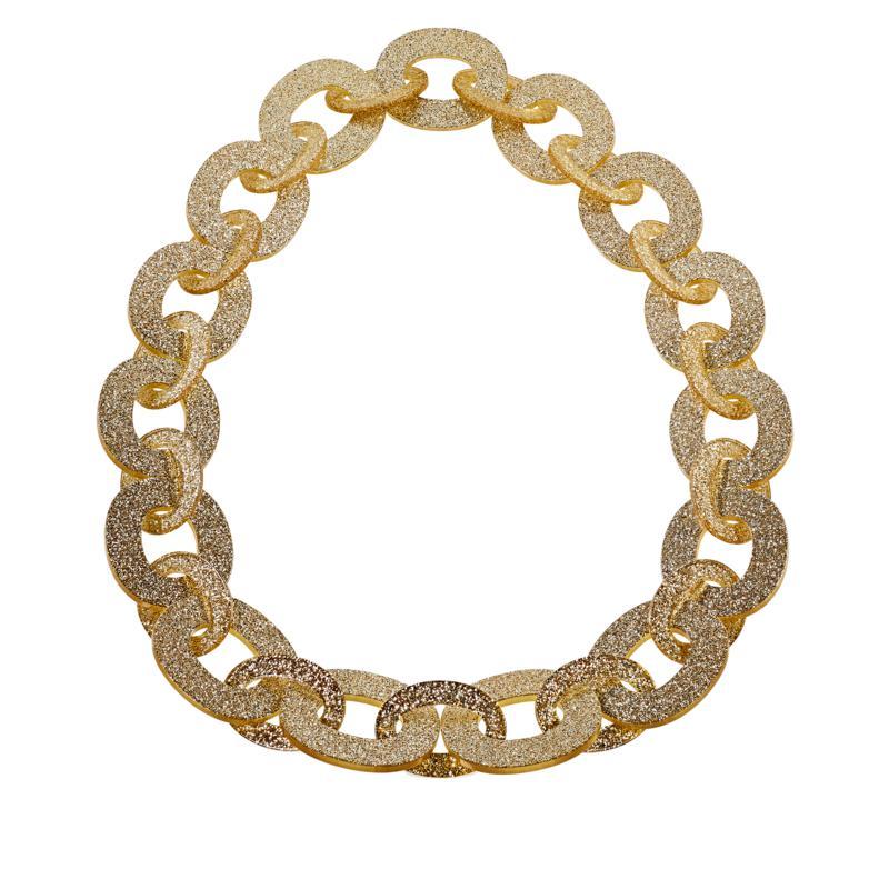 Rara Avis by Iris Apfel Glitter Link Necklace