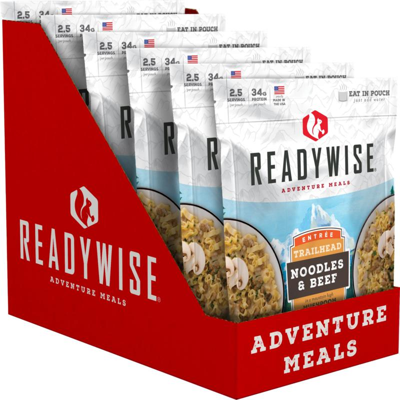 ReadyWise 6 CT Case Trailhead Noodles & Beef