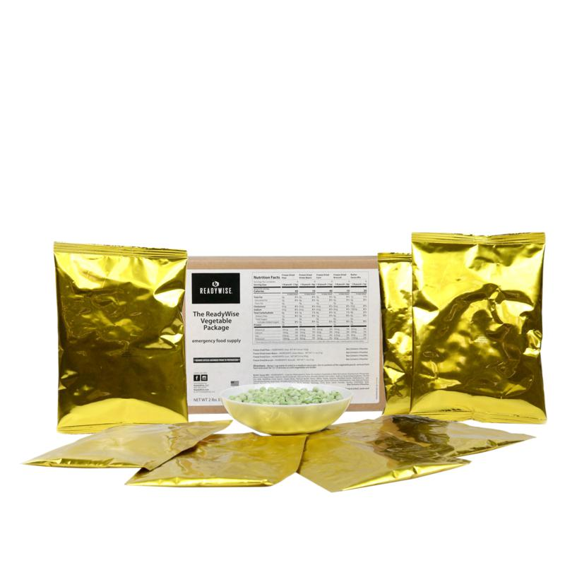 ReadyWise Freeze Dried Vegetables and Sauces Kit Auto-Ship®
