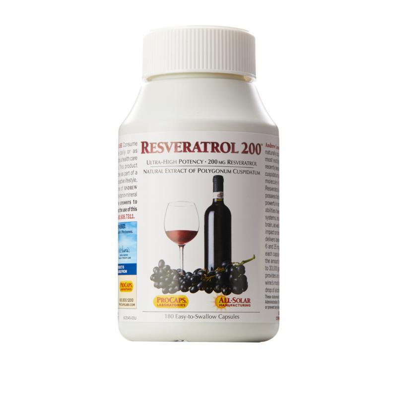 Resveratrol-200 - 360 Capsules