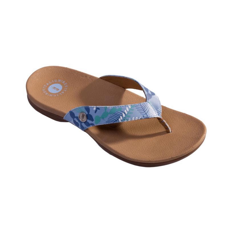 Revitalign Chameleon Beach Flip Flop Orthotic Sandal