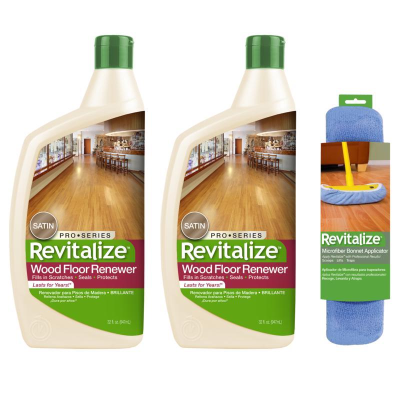 Revitalize 32 oz. Satin Finish Floor Renewer 2-pack