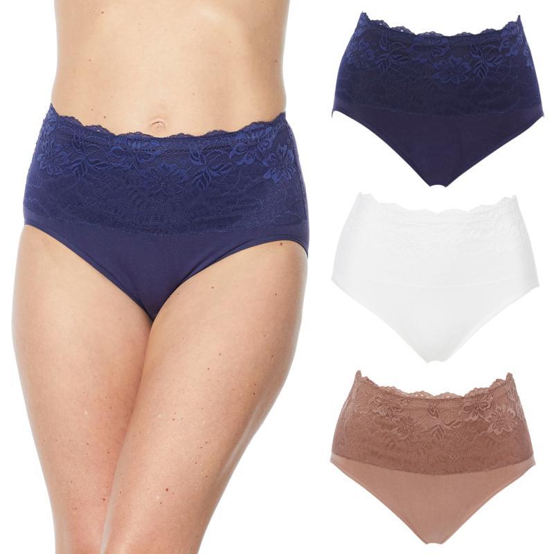 Rhonda Shear Bon Bon Lace Fancy Panty Style 54019