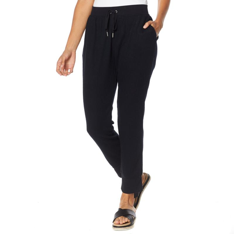 Rhonda Shear Ribbed Knit Lounge Pant
