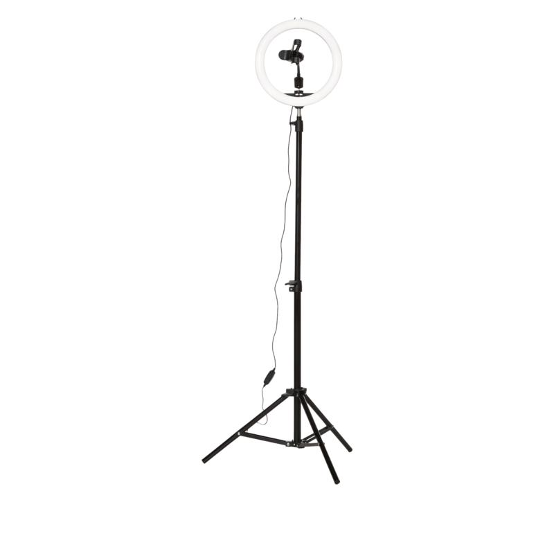 """Ring Light 10"""" LED Full Stand with Tripod"""
