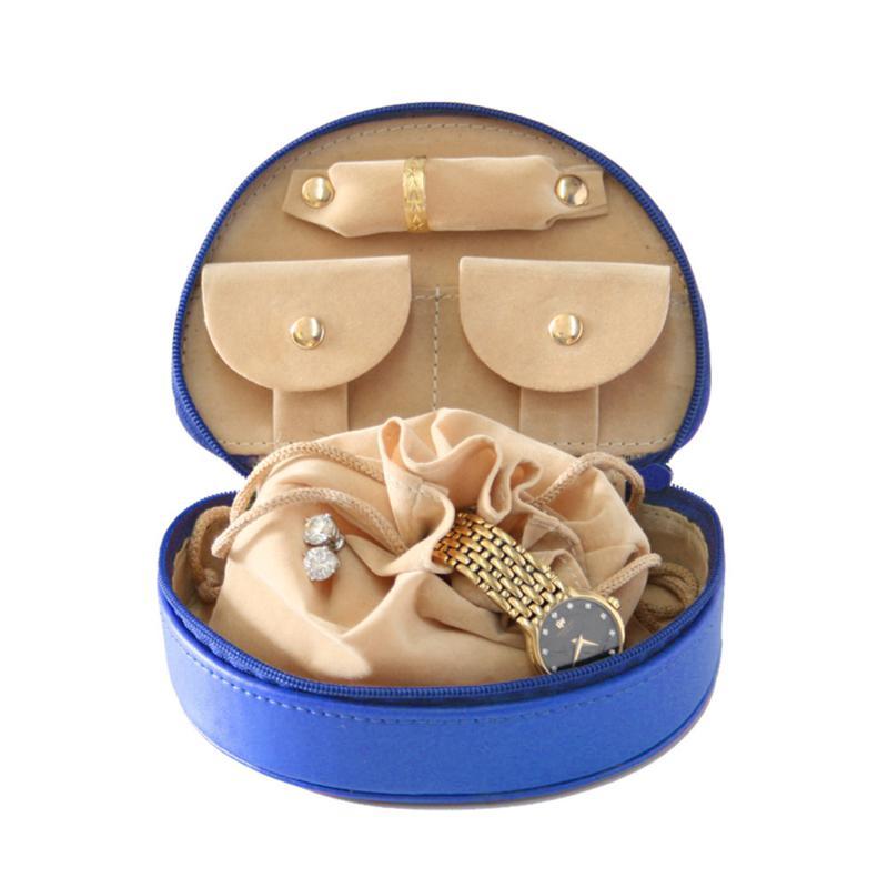 Royce Leather Personalizable Mini Jewelry Case