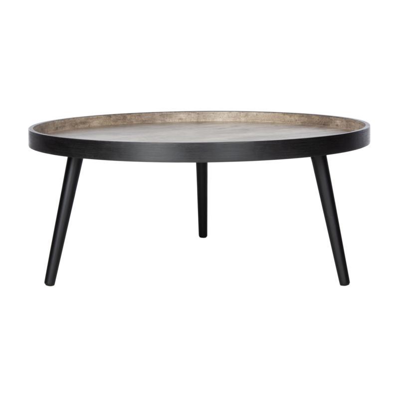 Safavieh Fritz Round Tray Top Coffee Table