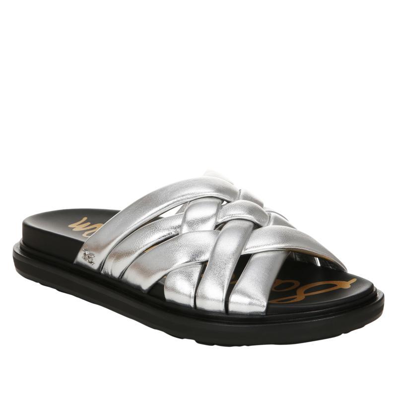 Sam Edelman Vaugn Woven Leather Slide