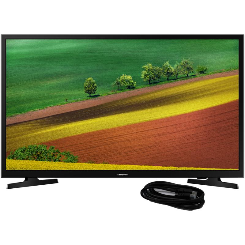 Samsung 32 Inch HD Smart TV and 6 Ft. HDMI cable