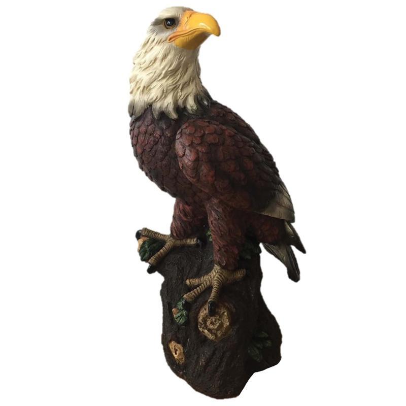 Santa's Workshop Bald Eagle Figurine