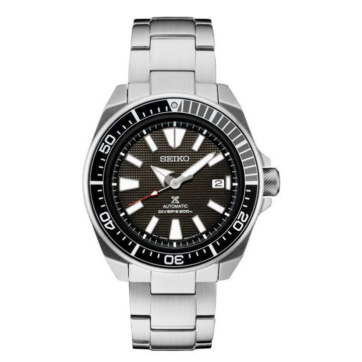 Seiko Men's Prospex Stainless Steel Automatic Diver Watch