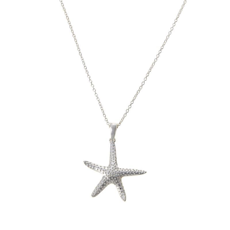 Sevilla Silver™ Starfish Pendant with Chain
