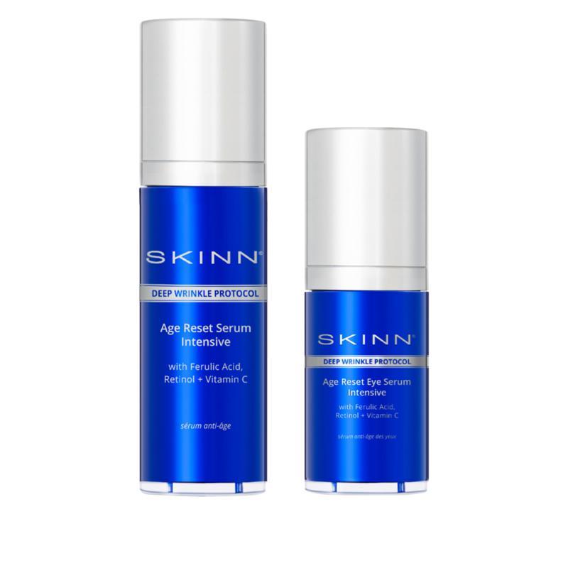 Skinn® Cosmetics DWP Age Reset Face & Eye Serum Intensive Set
