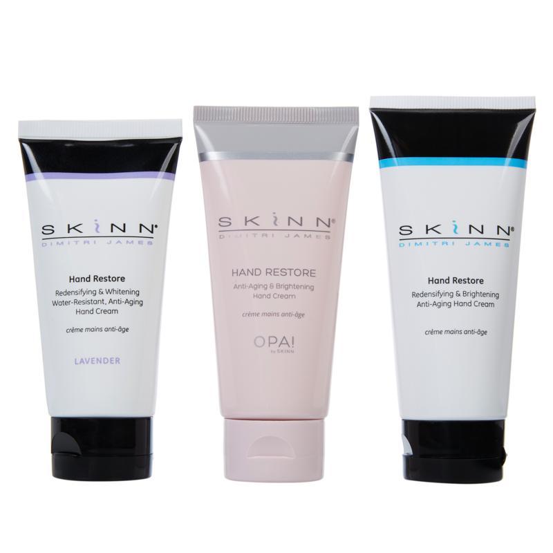 Skinn® Cosmetics Hand Restore Cream 3-pack
