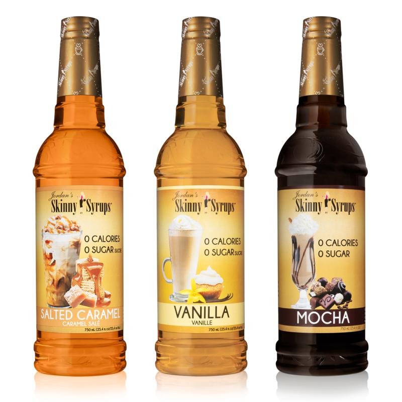 Skinny Syrups 3-pack Everyday Favorites Sugar-Free Flavored Syrups