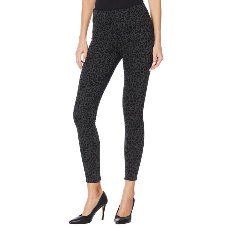 Skinnygirl Seamless Pull-On Printed Ponte Pant