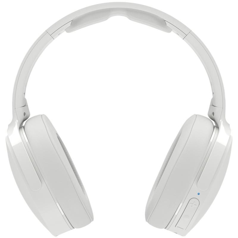 Skullcandy Hesh 3 Bluetooth Over-the-Ear Headphones - Gray/Crimson