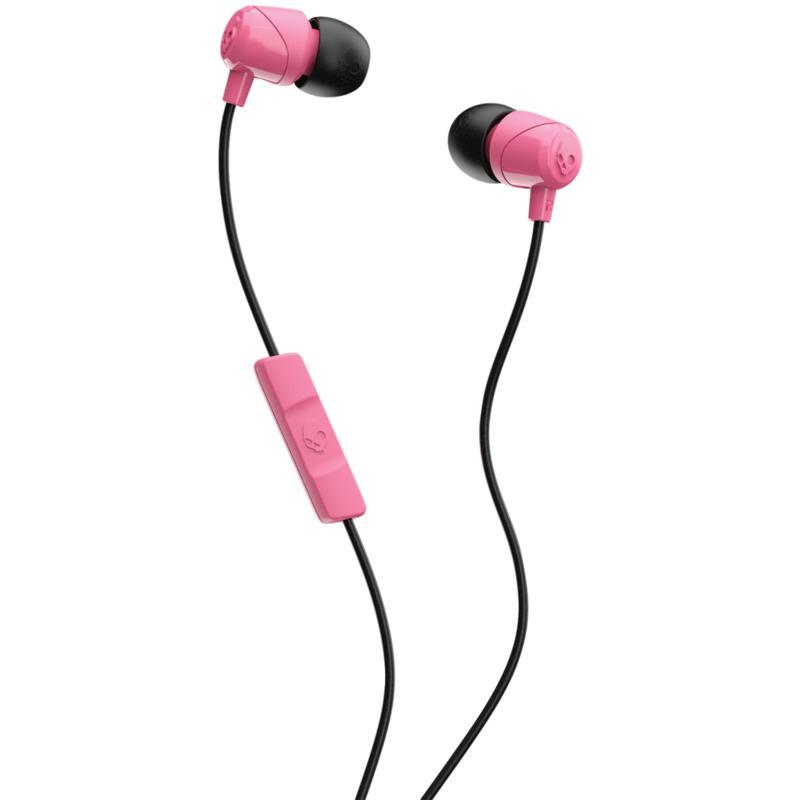 Skullcandy S2DUYK-630 Jib In-Ear Earbuds with Microphone - Pink