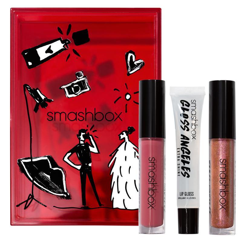 Smashbox Gloss Angeles Lip Gloss 3-piece Set